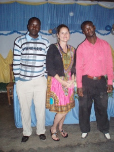 Here I am with one of my neighbors, Mr. Shilabi (on the left) and another teacher who was always super nice and funny and whose name I can't remember for the life of me. I suck.